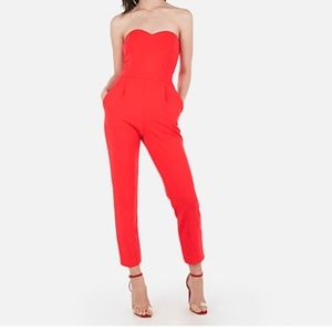 Red Express Jumpsuit (Tags on & Never Worn)